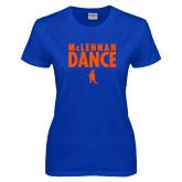 Ladies Royal T Shirt-Dance