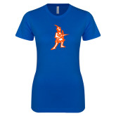 Next Level Ladies SoftStyle Junior Fitted Royal Tee-Highlander