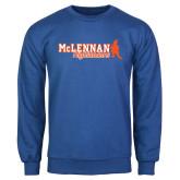 Royal Fleece Crew-McLennan Highlanders
