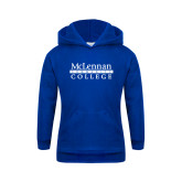 Youth Royal Fleece Hoodie-McLennan Community College