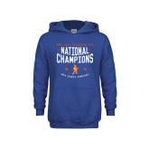 Youth Royal Fleece Hoodie-2018 NDA Jazz National Champions
