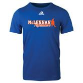 Adidas Royal Logo T Shirt-McLennan Highlanders