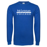 Royal Long Sleeve T Shirt-McLennan Community College
