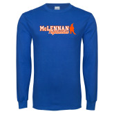 Royal Long Sleeve T Shirt-McLennan Highlassies