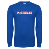 Royal Long Sleeve T Shirt-McLennan