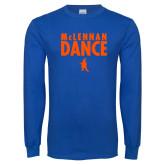 Royal Long Sleeve T Shirt-Dance