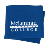 Royal Sweatshirt Blanket-McLennan Community College