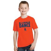 Youth Orange T Shirt-Dance