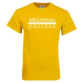 Gold T Shirt-McLennan Community College