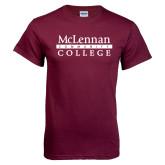 Maroon T Shirt-McLennan Community College
