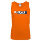 Orange Tank Top-McLennan Highlanders