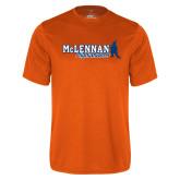 Performance Orange Tee-McLennan Highlanders