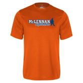 Performance Orange Tee-McLennan Highlassies