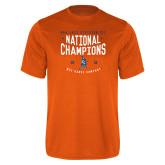Performance Orange Tee-2018 NDA Jazz National Champions