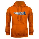 Orange Fleece Hoodie-McLennan Highlassies