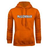 Orange Fleece Hoodie-McLennan