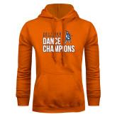 Orange Fleece Hoodie-2017 NDA National Dance Champions