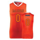 Replica Orange Adult Basketball Jersey-Personalized