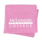 Pink Sweatshirt Blanket-McLennan Community College