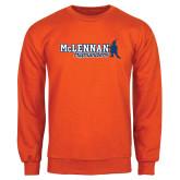 Orange Fleece Crew-McLennan Highlanders