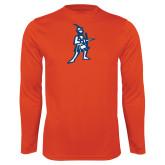 Performance Orange Longsleeve Shirt-Highlander