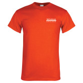 Orange T Shirt-McLennan Community College