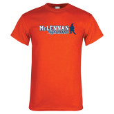 Orange T Shirt-McLennan Highlanders