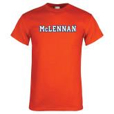 Orange T Shirt-McLennan