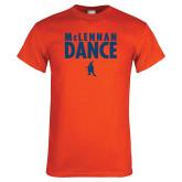 Orange T Shirt-Dance