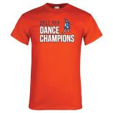 Orange T Shirt-2017 NDA National Dance Champions
