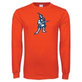 Orange Long Sleeve T Shirt-Highlander