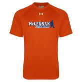 Under Armour Orange Tech Tee-McLennan Highlassies