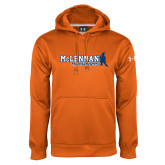 Under Armour Orange Performance Sweats Team Hoodie-McLennan Highlanders