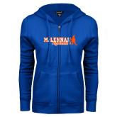ENZA Ladies Royal Fleece Full Zip Hoodie-McLennan Highlassies