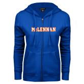 ENZA Ladies Royal Fleece Full Zip Hoodie-McLennan