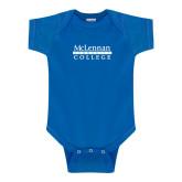 Royal Infant Onesie-McLennan Community College