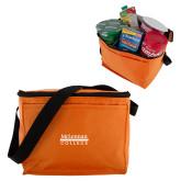 Six Pack Orange Cooler-McLennan Community College
