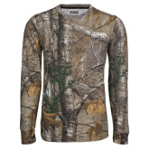 Realtree Camo Long Sleeve T Shirt w/Pocket-McLennan Community College