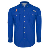 Columbia Bahama II Royal Long Sleeve Shirt-Highlander