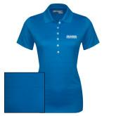 Ladies Callaway Opti Vent Sapphire Blue Polo-McLennan Community College