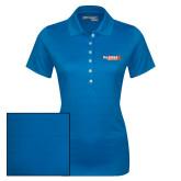 Ladies Callaway Opti Vent Sapphire Blue Polo-McLennan Highlanders