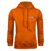 Orange Fleece Hoodie-McLennan Highlanders