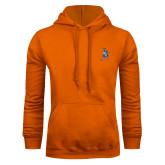 Orange Fleece Hoodie-Highlander