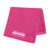 Pink Beach Towel-McLennan Community College