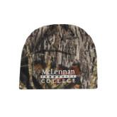 Mossy Oak Camo Fleece Beanie-McLennan Community College
