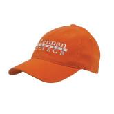 Orange Flexfit Mid Profile Hat-McLennan Community College