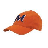 Orange Flexfit Mid Profile Hat-M