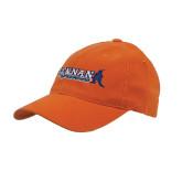 Orange Flexfit Mid Profile Hat-McLennan Highlassies