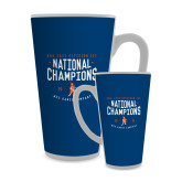 Full Color Latte Mug 17oz-2018 NDA Jazz National Champions