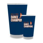 Full Color Glass 17oz-2017 NDA National Dance Champions